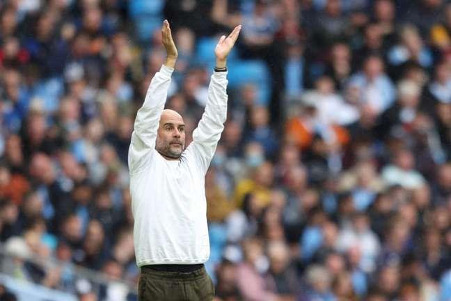 Guardiola é técnico do Manchester City (Foto: ADRIAN DENNIS / AFP)