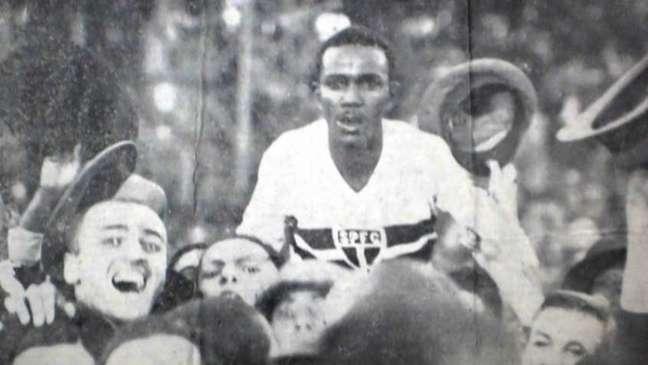 Waldemar de Brito deixou sua marca na goleada do São Paulo (Foto: Reprodução / saopaulofc.net)