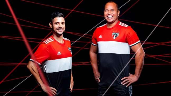Nova terceira camisa do São Paulo para a temporada (Foto: Divulgação/Adidas)