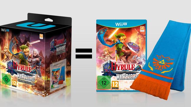 A edição de colecionador de Hyrule Warriors