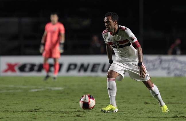 Daniel Alves não joga mais pelo São Paulo (Foto: Rubens Chiri/ São Paulo FC)