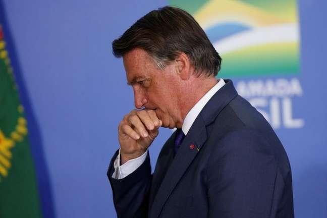 Bolsonaro no Planalto  2/9/2021 REUTERS/Adriano Machado