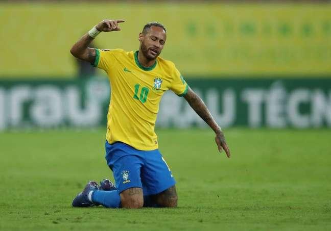 Neymar tem feito muito barulho fora de campo 09/09/2021 REUTERS/Ricardo Moraes