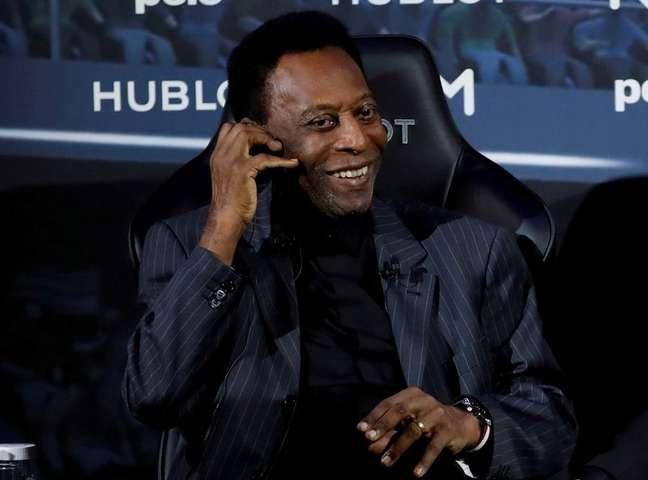 Pelé está internado em hospital em São Paulo 02/04/2019 REUTERS/Christian Hartmann