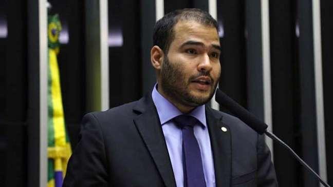 O deputado Lucas Vergílio, líder do Solidariedade na Câmara dos Deputados