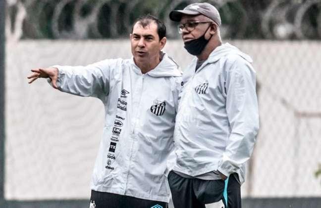 Fábio Carille vai estrear no Santos neste sábado diante do Bahia (Crédito: Reprodução/Santos)