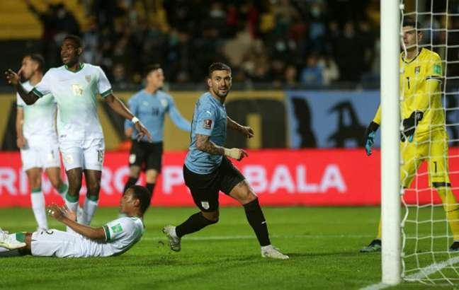 Arrascaeta vai voltar a defender o Uruguai pelas Eliminatórias (Foto: Matilde Camai volatapodonico / POOL / AFP)