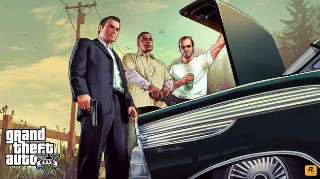GTA 5 chega em 2022 no PS5 e Xbox Series
