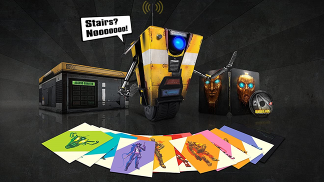 Borderlands: The Handsome Collection - Claptrap in a Box Edition