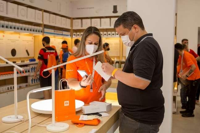 Inauguração da loja oficial da Xiaomi no BarraShopping