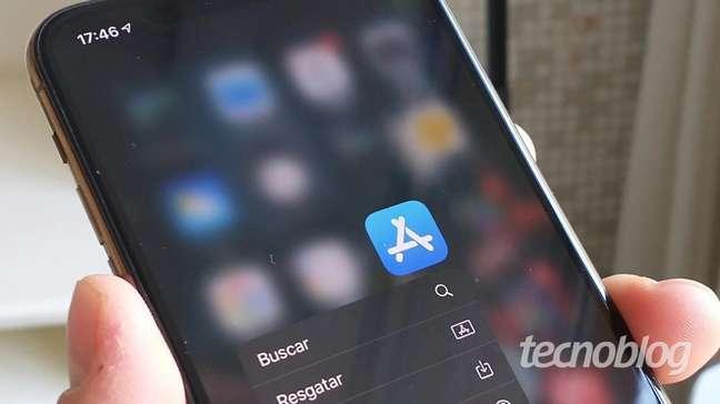 App Store no iPhone