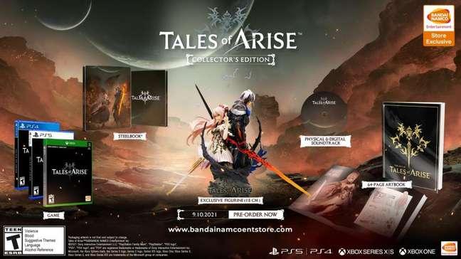 Tales of Arise - Edição de Colecionador