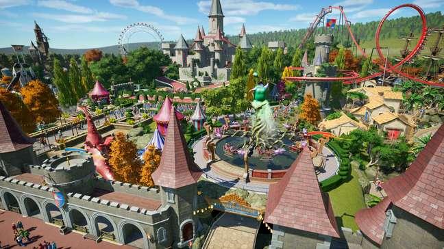 Com 84 de média no Metacritic, Planet Coaster dá chance ao jogador de montar o melhor parque de diversão de seus sonhos.