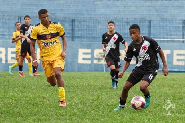 Vasco fica no empate por 0 a 0 contra o Madureira na Taça Guanabara Sub-15 (Foto: Vitor Brügger/Vasco)
