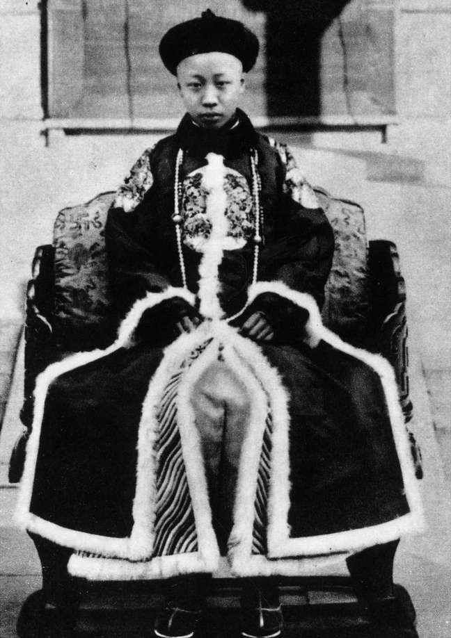O imperador, aos 11 anos