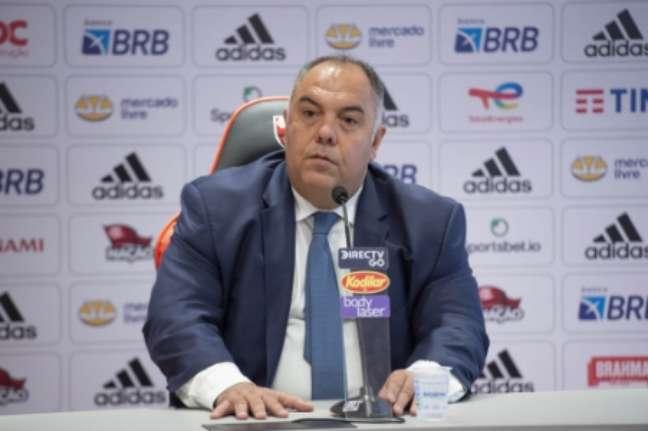 Marcos Braz é VP de futebol do Flamengo (Foto: Alexandre Vidal/Flamengo)