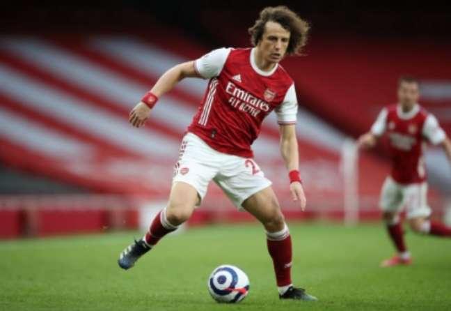 O Arsenal foi o último time de David Luiz na Europa (Foto: NICK POTTS / POOL / AFP)