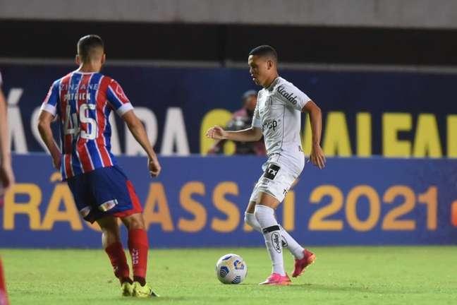 Bahia venceu o Santos na estreia no Brasileirão de 2021 (Foto: Ivan Storti/Santos FC)
