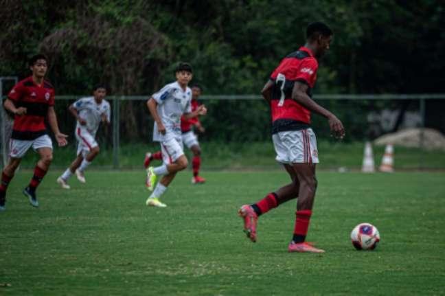 O Flamengo também segue invicto no sub-15 (Foto: Paula Reis/Flamengo)