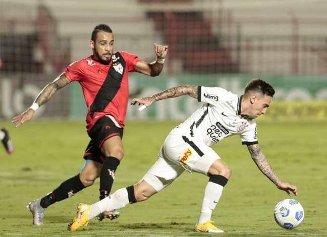 Corinthians e Atlético-GO voltam a se enfrentar. Será a quarta vez na temporada (Foto: Rodrigo Coca/Ag. Corinthians)
