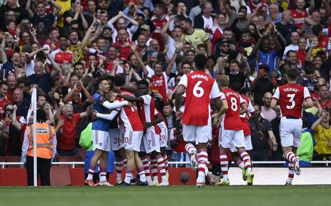 Arsenal conseguiu a sua primeira vitória na temporada