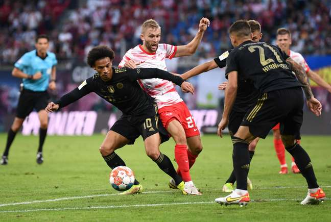 Bayern de Munique venceu o RB Leipzig por 4 a 1 neste sábado, 11