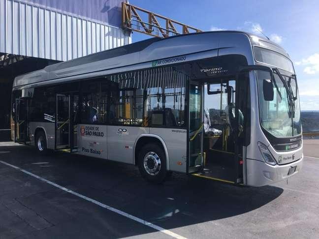 Os ônibus elétricos da Transwolff têm chassi BYD