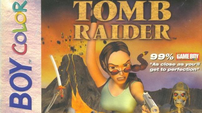 Tomb Raider no Game Boy Color