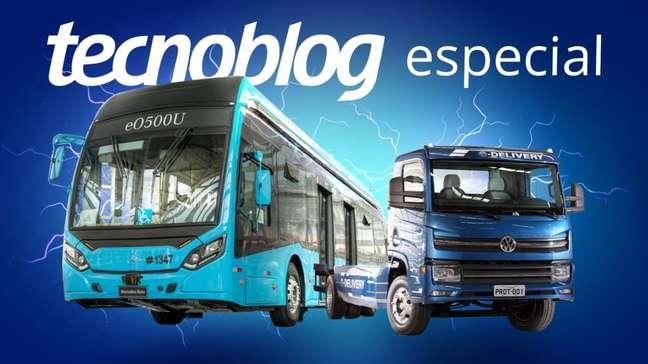 Os caminhões e ônibus que fazem o Brasil avançar em veículos elétricos