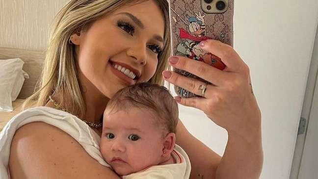 Maria Alice, filha de Virgínia e Zé Felipe, já é um fenômeno nas redes sociais.