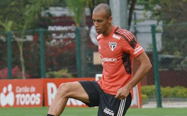 São Paulo encerrou preparação para enfrentar o Fluminense (Foto: Erico Leonan / saopaulofc)