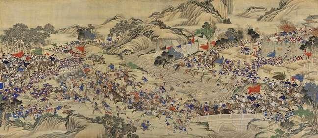Rebelião de Taiping, uma obra de meados do século 19