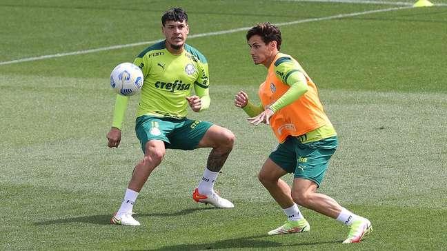 Após representar o Paraguai na Data Fifa, Gustavo Gómez retornou ao Palmeiras visando o confronto contra o Flamengo.