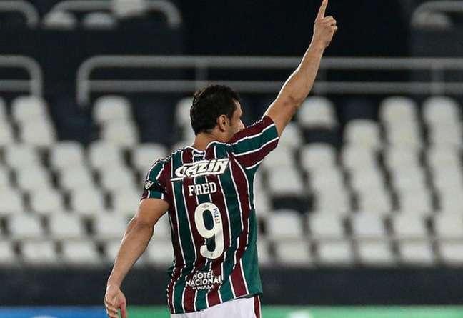 Fred volta a ser titular do Fluminense após ser poupado na última rodada (Foto: Lucas Merçon/Fluminense FC)