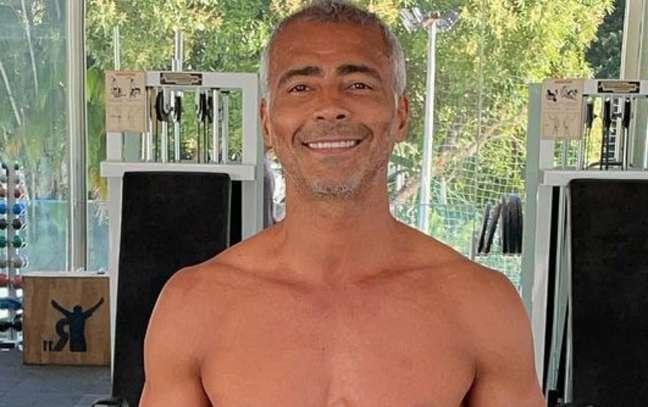 Romário retirou a vesícula em procedimento de emergência na última quinta-feira (Reprodução / Instagram)