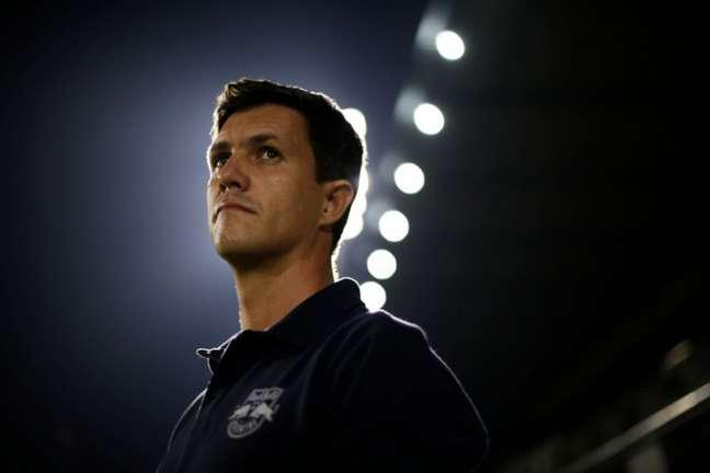 Barbieri ficou chateado com a derrota em casa (Ari Ferreira/Red Bull Bragantino)
