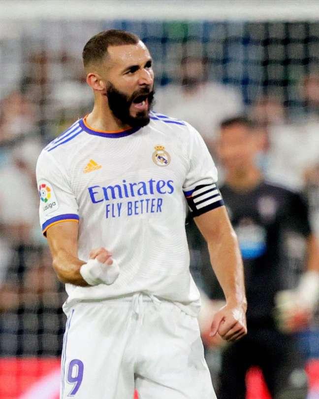Real Madrid evenceu Celta de Vigo por 5 a 2 neste domingo, 12