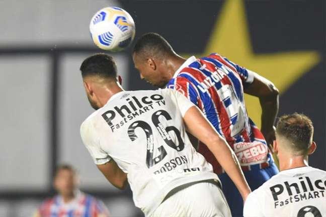 Bahia conquistou um empate contra o Santos (Foto: Ivan Storti/Santos FC)