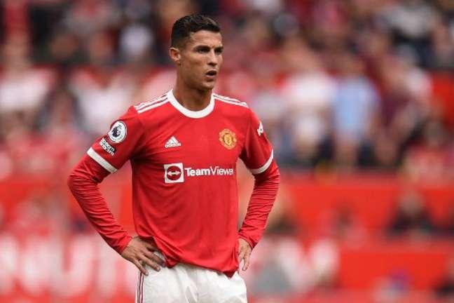 Cristiano Ronaldo estava com problemas fora de campo (Foto: Oli Scarff/AFP)