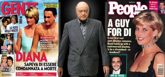Mohamed Al-Fayed quis derrubar a monarquia para vingar o filho e Diana, acabou derrotado e deixou a Inglaterra