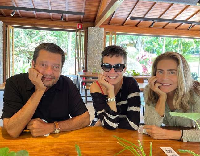 Ex aproximou Adriana Calcanhotto e Maitê Proença