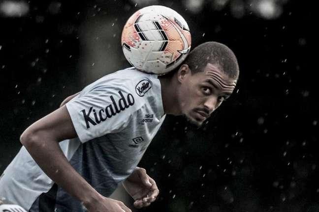 Luiz Felipe vai desfalcar o Santos diante do Athletico-PR (FOTO: Ivan Storti/ Santos FC)