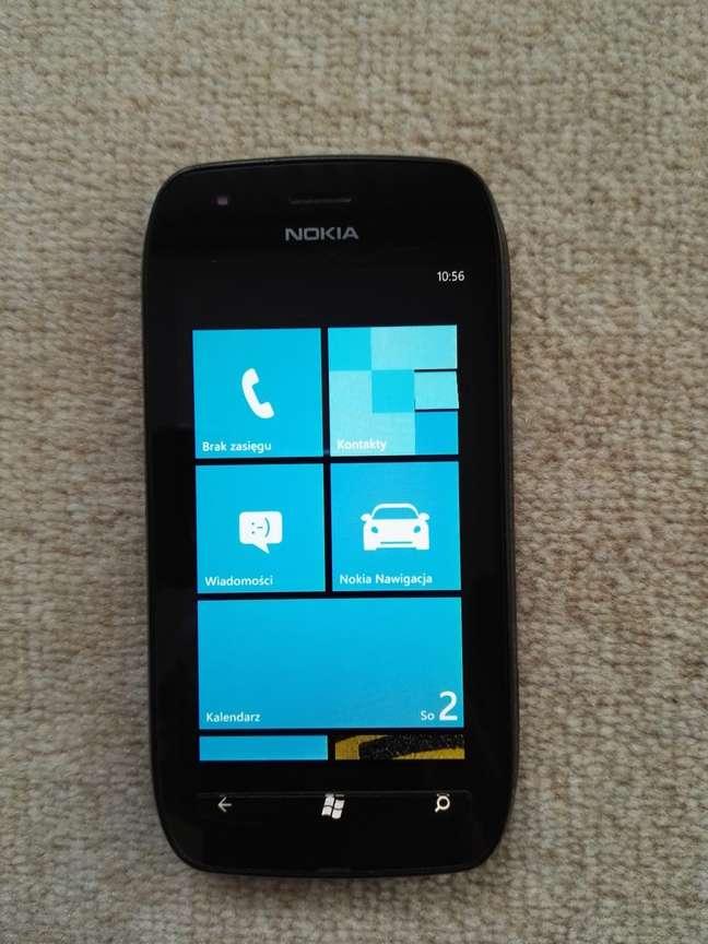 Interface do Windows Phone 7.8 no Lumia 710
