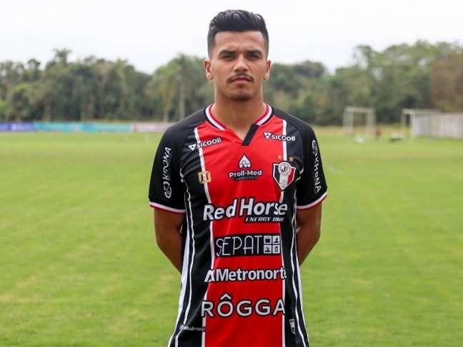 Atleta tem passagem, também por empréstimo, pelo São José-RS (Divulgação/Joinville)