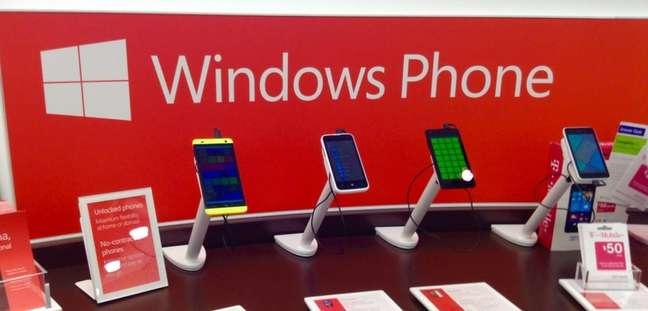 Modelos com Windows Phone