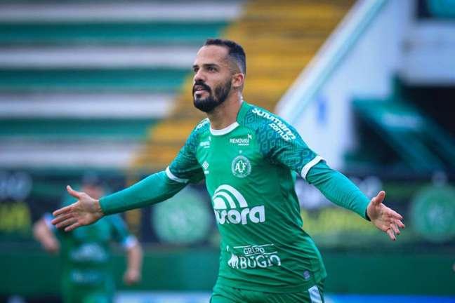Anselmo Ramon é uma das esperanças da Chapecoense (Divulgação / Chapecoense)