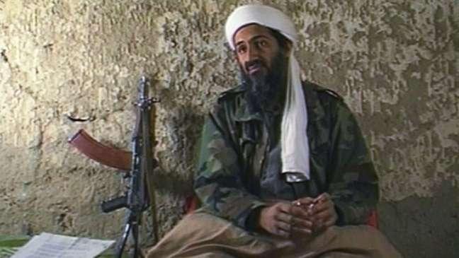 O líder da Al Qaeda, Osama Bin Laden