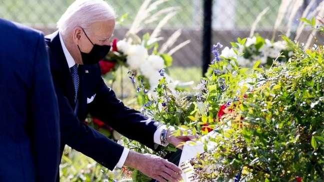 As famílias de algumas vítimas pressionaram por muito tempo o presidente Joe Biden para divulgar os documentos