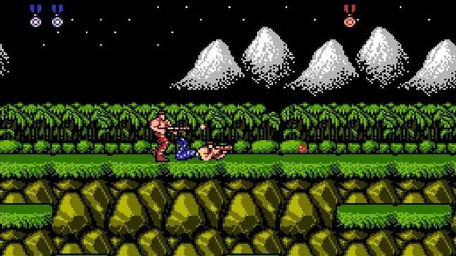 Código Konami se tornou popular no jogo Contra, para NES