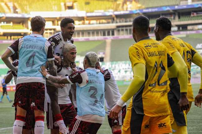 O Flamengo segue embalado sob o comando do técnico Renato Gaúcho (Foto: Marcelo Cortes/Flamengo)